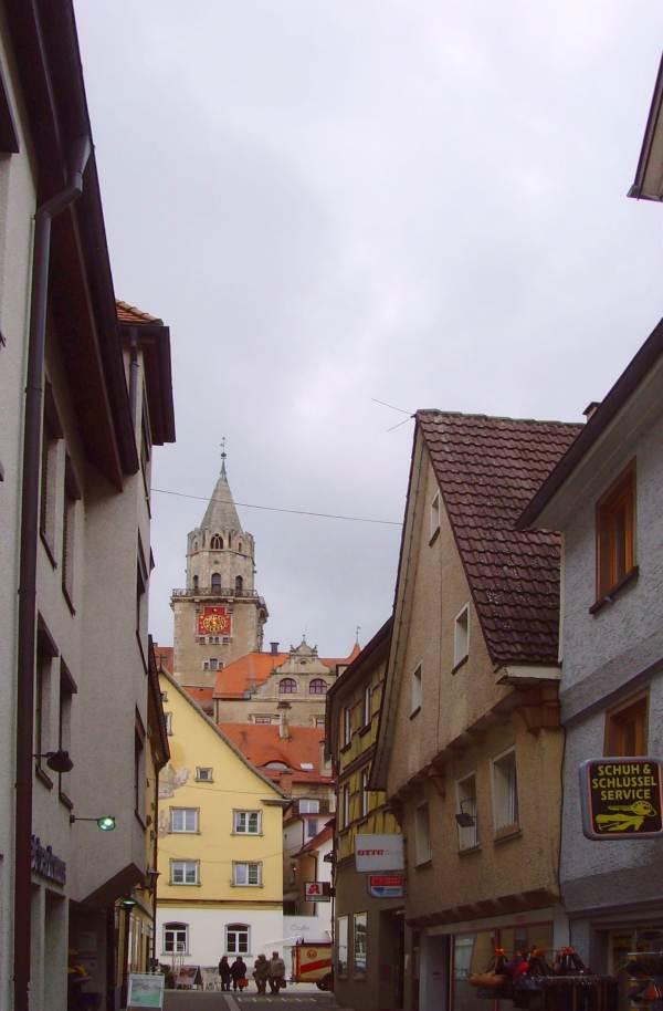 Blick aus der Altstadt