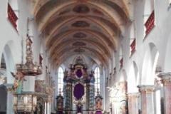 Bad Waldsee Stadtkirche Innenansicht