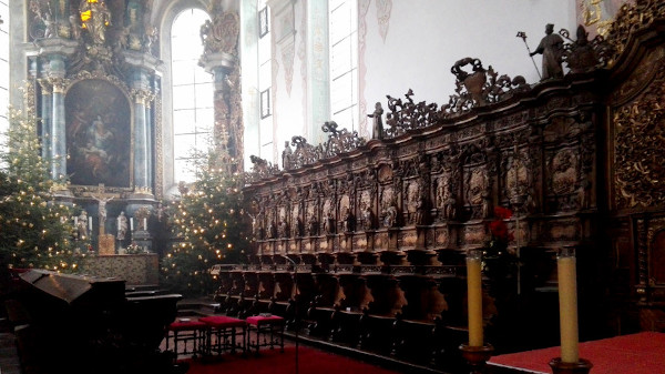 Chorgestühl der Klosterkirche Bad Schussenried
